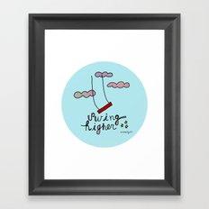 Swing HIGHER  Framed Art Print