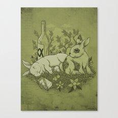 Easy Lover Canvas Print