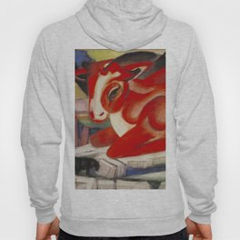 """Franz Marc """"The World Cow"""" Hoody"""