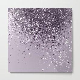 Sparkling Lavender Lady Glitter #2 #shiny #decor #art #society6 Metal Print