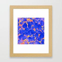 Supercontrast #painting #nature Framed Art Print