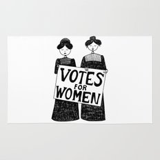 votes for women Rug