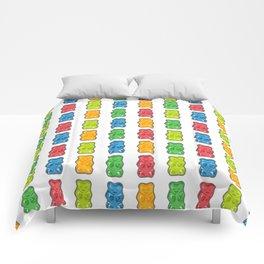 Rainbow Gummy Bears Comforters