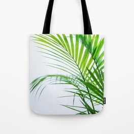 Palm leaves paradise Tote Bag