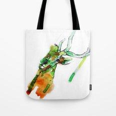 Deerface Tote Bag