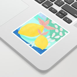 Pink Lemonade - Shapes and Layers no.32 Sticker