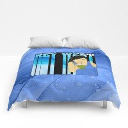 Drink Up in Key West Comforters