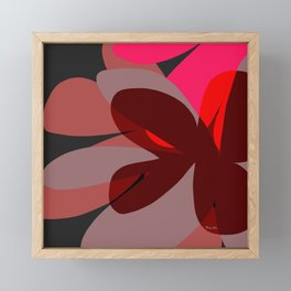 Interior color revolution Framed Mini Art Print