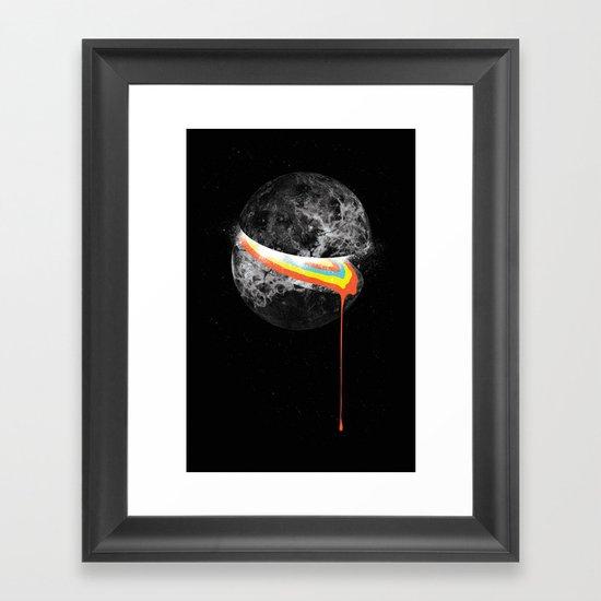 Venus Spills Her Guts Framed Art Print