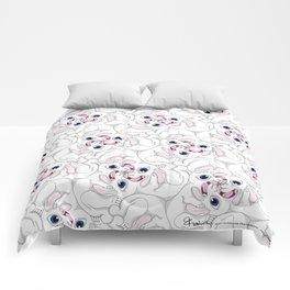 Rabid Rabbits Tessellation Comforters