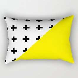 Memphis pattern 75 Rectangular Pillow