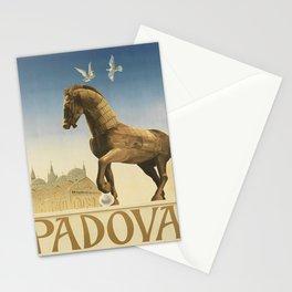 retro ENIT Padova retro poster Stationery Cards