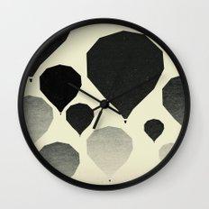 Morning wind balloons Wall Clock
