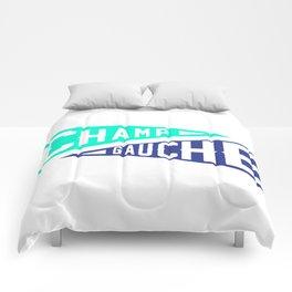 Champ Gauche Baseball Flag Comforters