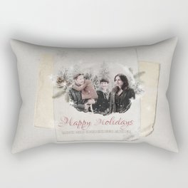 OUAT HAPPY HOLIDAYS // Hood-Mills Family Rectangular Pillow