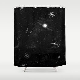 Gravity 3.0 Shower Curtain
