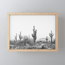 DESERT / Scottsdale, Arizona Framed Mini Art Print