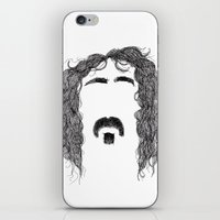 zappa iPhone & iPod Skins featuring Frank Zappa by Sára Szabó