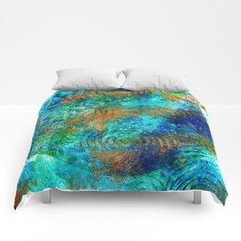 Copper beneath the waves Comforters