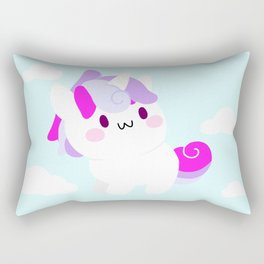 unicorn - may all your DREAMs come true Rectangular Pillow