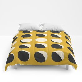 Moon Phased in Honey Comforters