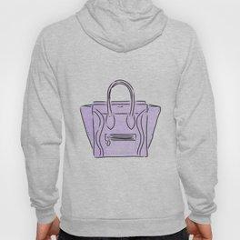 Purple bag Hoody