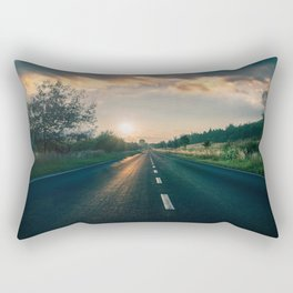 The Road Rectangular Pillow