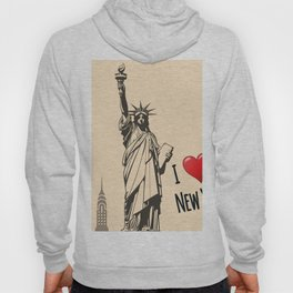 Statue we love Hoody