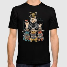 Big Trouble in Little Kanto  Mens Fitted Tee Black X-LARGE