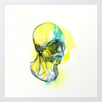 dna Art Prints featuring DNA by Chen Li