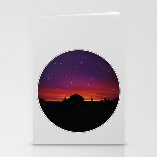Dreamy Sunset Stationery Cards