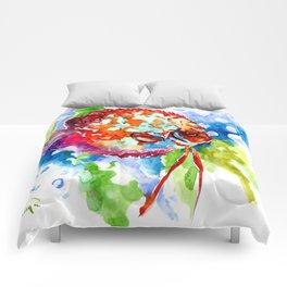 Bright Colored Aquarium Fish, Aquatic Beach Design Discus Comforters