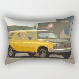 Eric's New Age Suburban Dream Rectangular Pillow