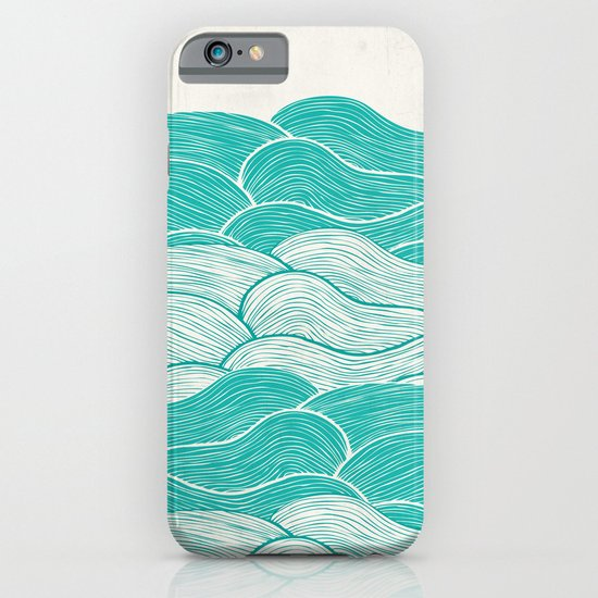 The Calm and Stormy Seas iPhone & iPod Case