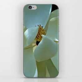 Blue Magnolia iPhone Skin