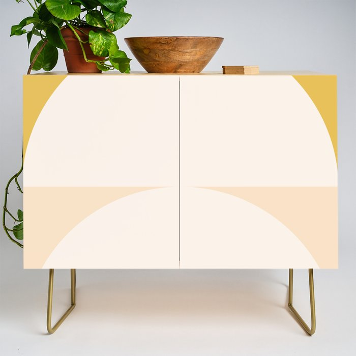 Abstract Geometric 01 Credenza