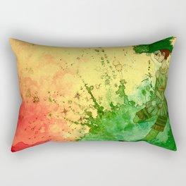 Tea Lounge - Radiant Garden Rectangular Pillow