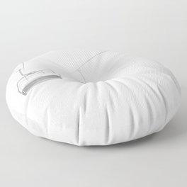 4 Seat Chair Lift Deep Snow B&W Floor Pillow