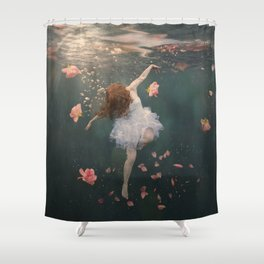 Rosewater Shower Curtain