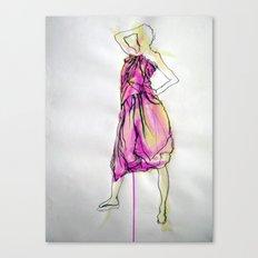 Sarong I Canvas Print