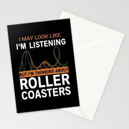 Roller Coaster Stationery Cards