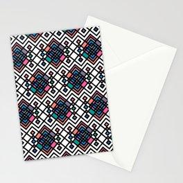 Aztec Geometric Stationery Cards