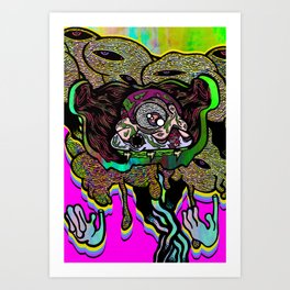Leader of the Clouds Art Print