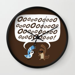 Regular Show - Mordecai and Rigby Wall Clock