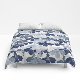 Abstract flower pattern 2 Comforters