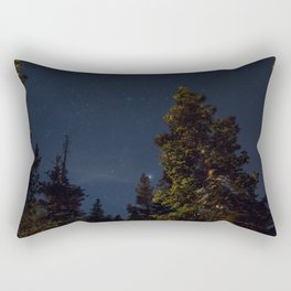 Starry Trees Rectangular Pillow