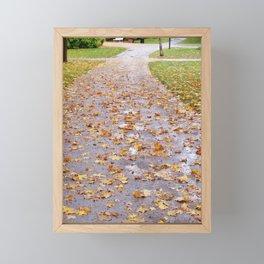 October 1 Framed Mini Art Print