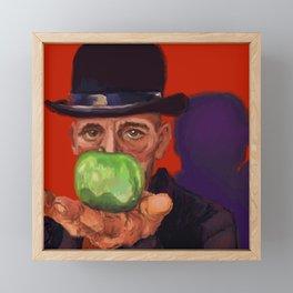 Rick, a la Magritte Framed Mini Art Print