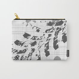 Grunge Tyre Marks Carry-All Pouch