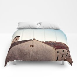 Sunrise in Dubrovnik Comforters